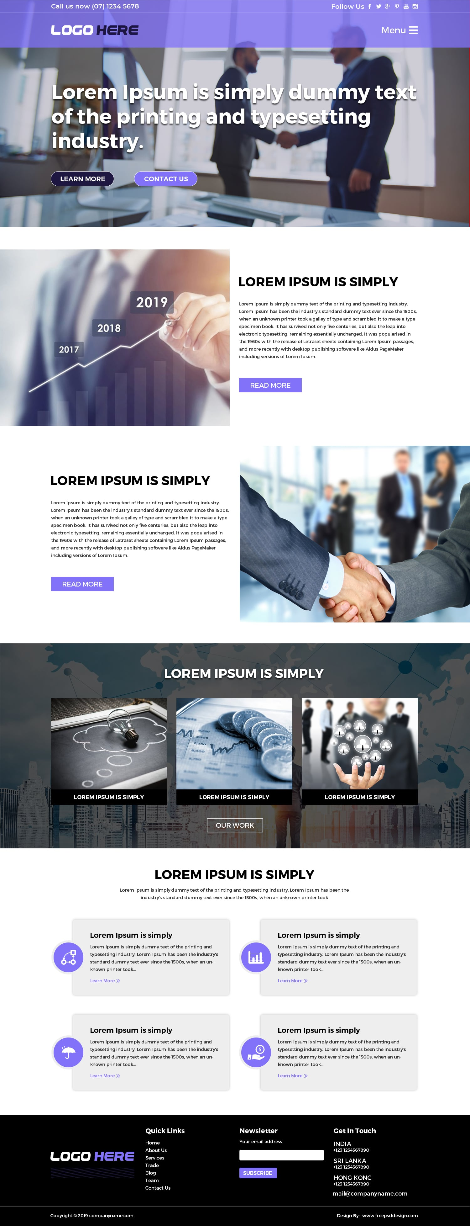 B2B Website Templates